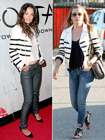KATIE VS. LEANN  photo | Katie Holmes, LeAnn Rimes