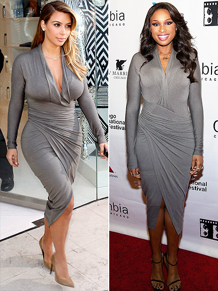 KIM VS. JENNIFER photo | Jennifer Hudson, Kim Kardashian