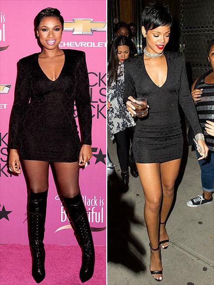 JENNIFER VS. RIHANNA  photo   Jennifer Hudson, Rihanna
