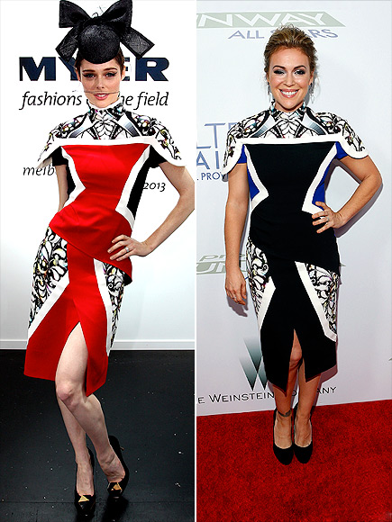 COCO VS. ALYSSA photo | Alyssa Milano, Coco Rocha