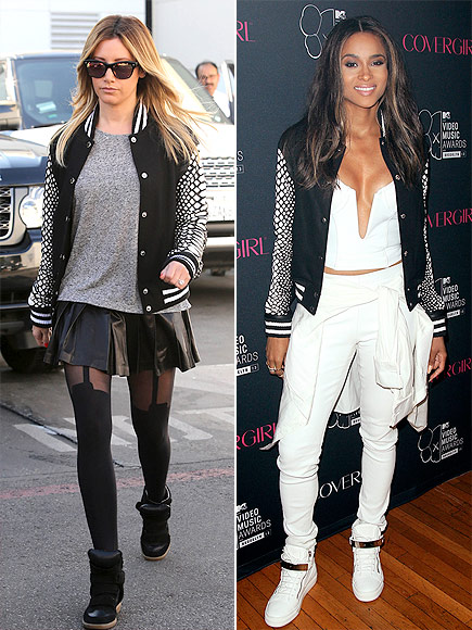 ASHLEY VS. CIARA photo | Ashley Tisdale, Ciara
