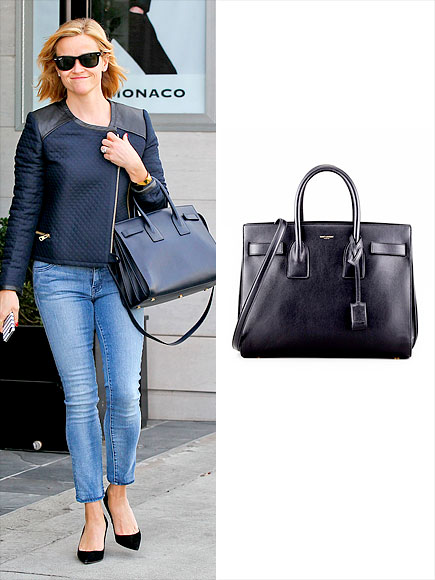 SAINT LAURENT 'SAC DU JOUR' CARRYALL photo | Reese Witherspoon
