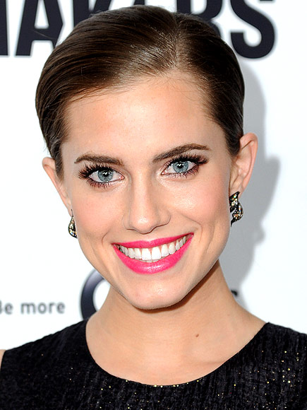 ALLISON'S HOT PINK LIPS photo | Allison Williams
