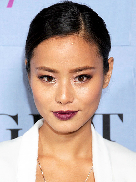 PURPLE LIPSTICK photo | Jamie Chung