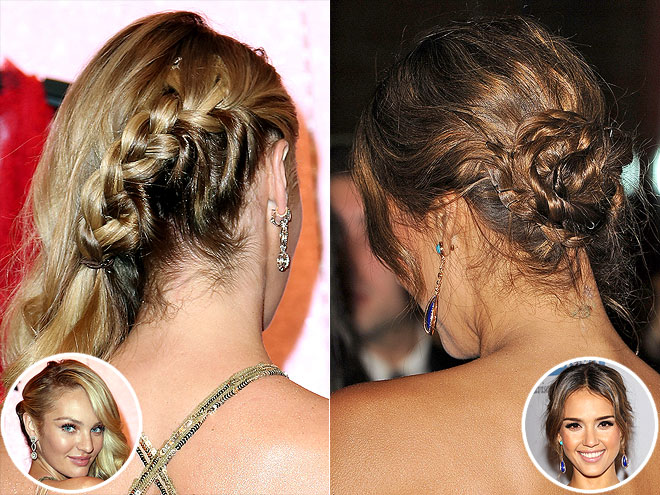 BRAIDS THAT AREN'T CROWN PLAITS photo | Jessica Alba