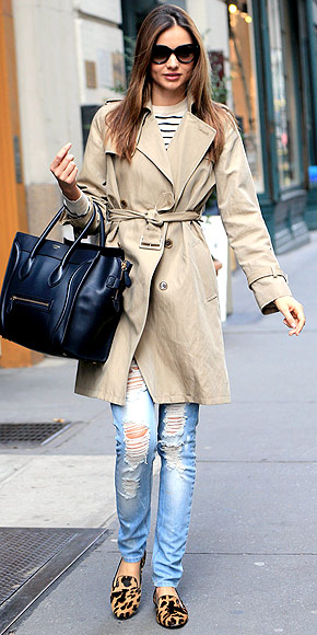 PAIR DISTRESSED WITH PREPPY photo | Miranda Kerr