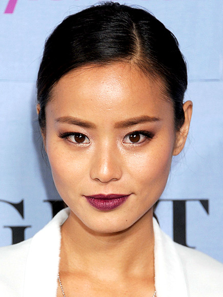 BURGUNDY LIPS  photo | Jamie Chung