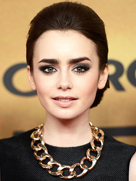 THE SMOKIEST EYE  photo | Lily Collins