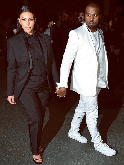 KIM KARDASHIAN & KANYE WEST photo | Kanye West, Kim Kardashian
