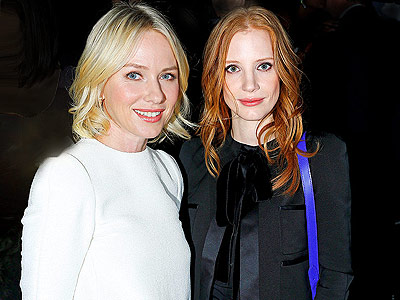 Paris Fashion Week: Chic Chicks | Jessica Chastain, Naomi Watts