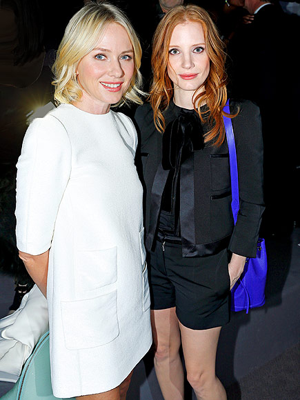 NAOMI WATTS & JESSICA CHASTAIN photo | Jessica Chastain, Naomi Watts
