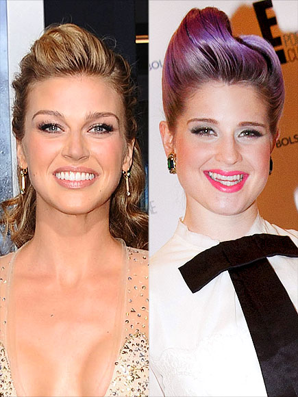 THE UPDO WITH A POMPAUDOR photo | Kelly Osbourne