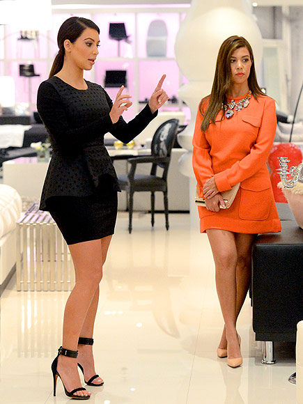 KOURTNEY & KIM:  FURNITURE STORE photo | Kim Kardashian, Kourtney Kardashian