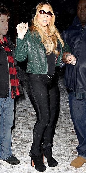 MARIAH CAREY: OUT IN ASPEN photo | Mariah Carey