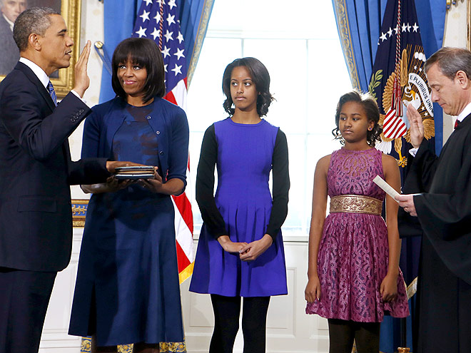 DRESS FOR SUCCESS photo | Malia Obama, Michelle Obama, Sasha Obama
