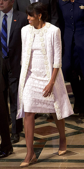 ADD ANOTHER COAT photo | Michelle Obama
