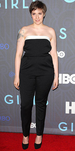 Lena Dunham's 5 Unofficial Style Rules