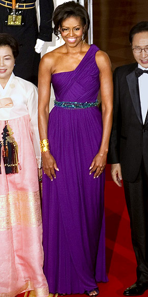 COLOR ME PURPLE FASHION DIVA: MICHELLE OBAMA INSPIRE PANTONE PURPLE HUE COLOUR - DivaSnap.com