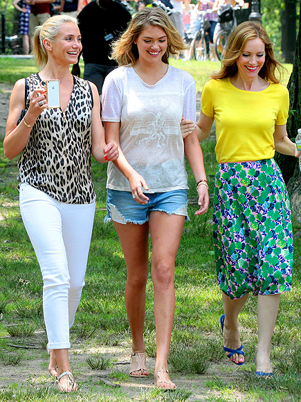 CAMERON, KATE & LESLIE photo | Cameron Diaz, Kate Upton, Leslie Mann