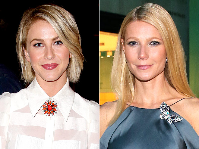 EYE-CATCHING BROOCHES photo | Gwyneth Paltrow, Julianne Hough
