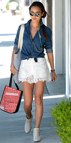 CROCHET SHORTS photo | Jamie Chung