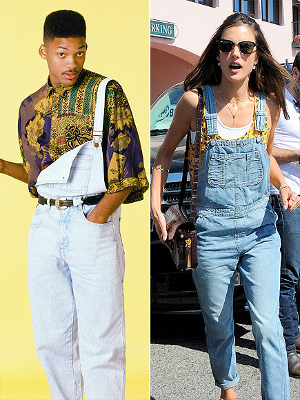FADED OVERALLS photo | Alessandra Ambrosio, Will Smith