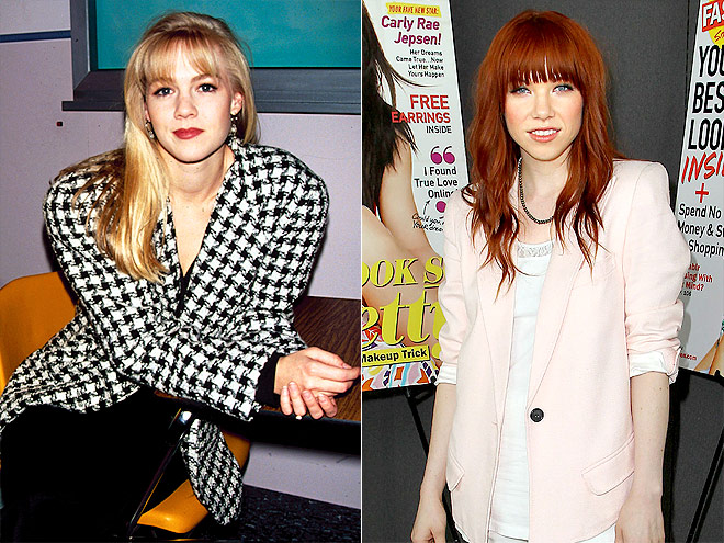 SHOULDER PADS photo | Carly Rae Jepsen, Jennie Garth