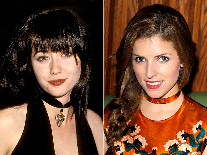 CHOKERS photo | Anna Kendrick, Shannen Doherty