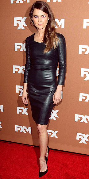 Fantasy keri russell leather are
