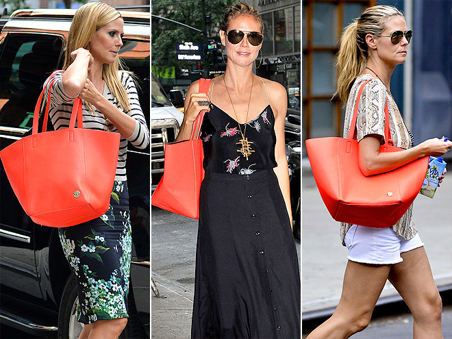 VINCE CAMUTO TOTE  photo | Heidi Klum