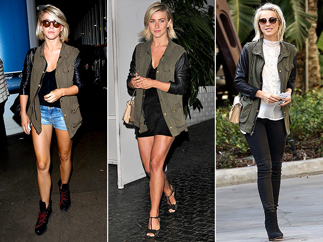 JET BY JOHN ESHAYA JACKET  photo | Julianne Hough