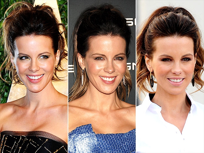 KATE'S CHEERLEADER PONY  photo | Kate Beckinsale