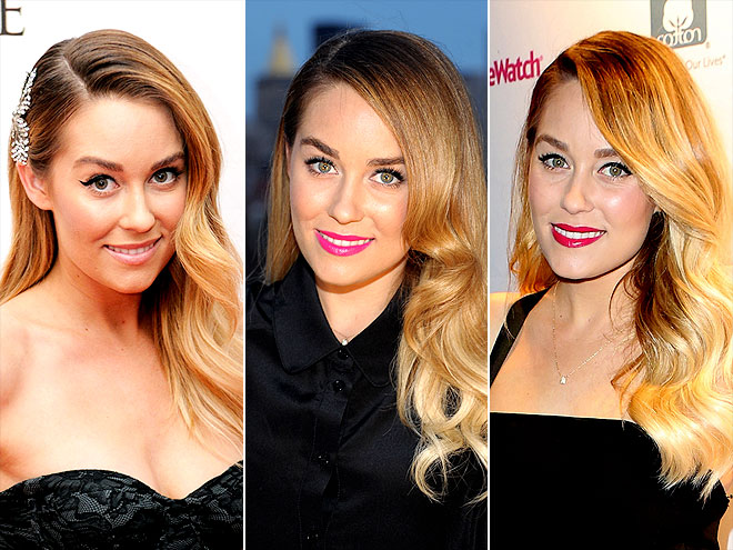 LAUREN'S CURLS ON THE SIDE photo | Lauren Conrad