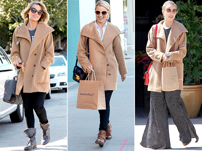 MAX MARA COAT photo | Dianna Agron