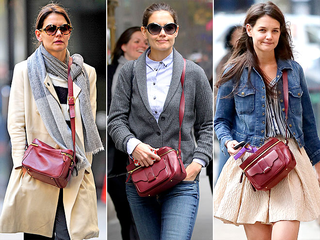 DEREK LAM CAMERA BAG photo | Katie Holmes