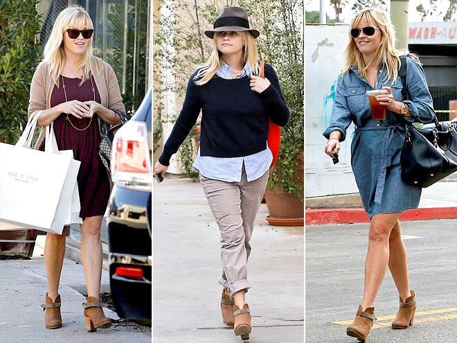 RAG & BONE BOOTIES photo | Reese Witherspoon