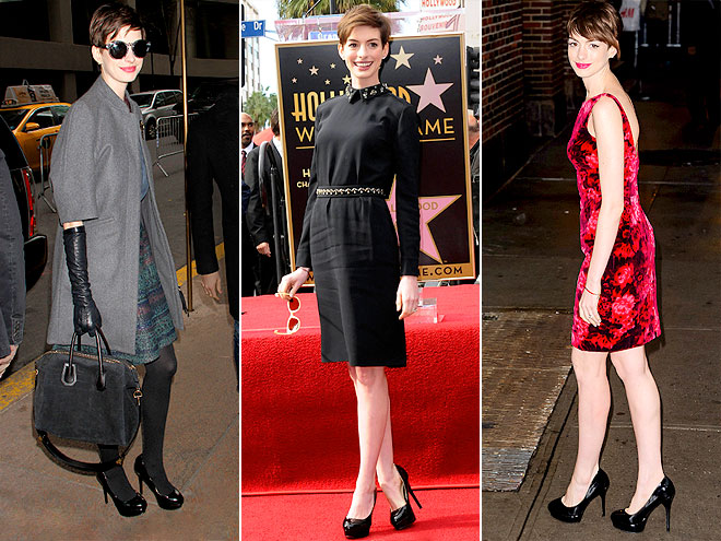ALDO PUMPS photo | Anne Hathaway