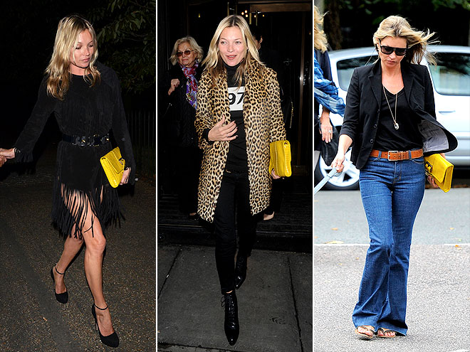 KATE MOSS FOR LONGCHAMP CLUTCH photo | Kate Moss