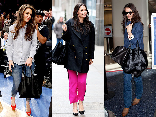 CH CAROLINA HERRERA BAG photo | Katie Holmes
