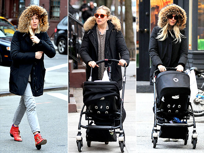 WOOLRICH JOHN RICH & BROS. PARKA photo | Sienna Miller