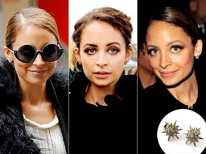 H. STERN EARRINGS photo | Nicole Richie