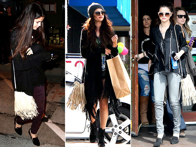 MCFADIN FRINGE BAG photo | Selena Gomez