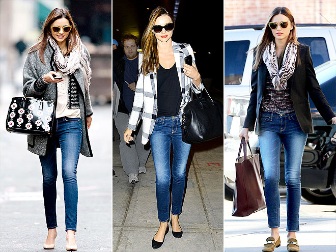 FRAME DENIM JEANS photo | Miranda Kerr