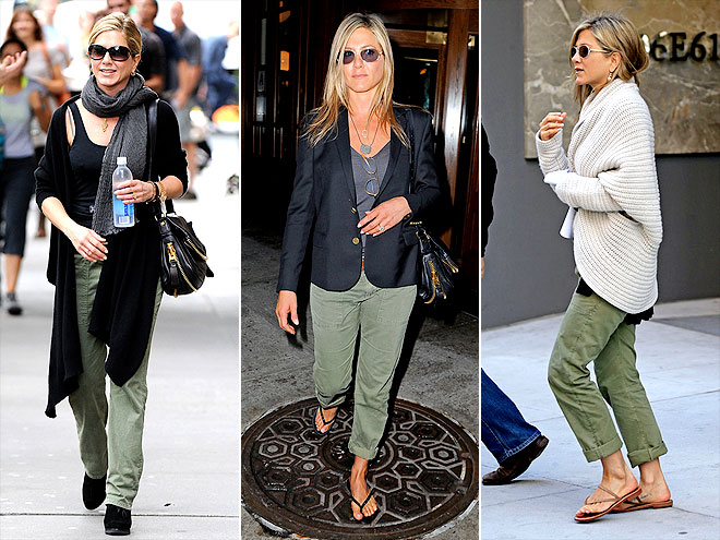 J.CREW CHINOS photo | Jennifer Aniston