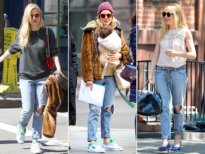 PAPER DENIM & CLOTH JEANS photo | Sienna Miller
