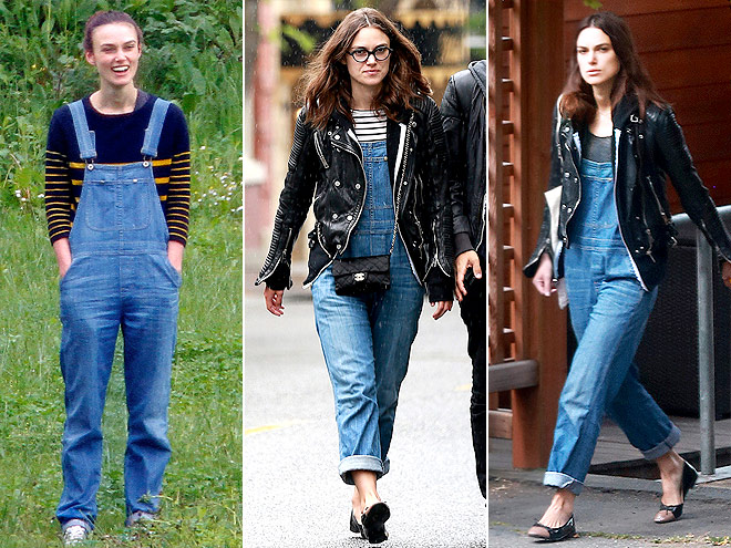 CITIZENS OF HUMANITY OVERALLS photo | Keira Knightley