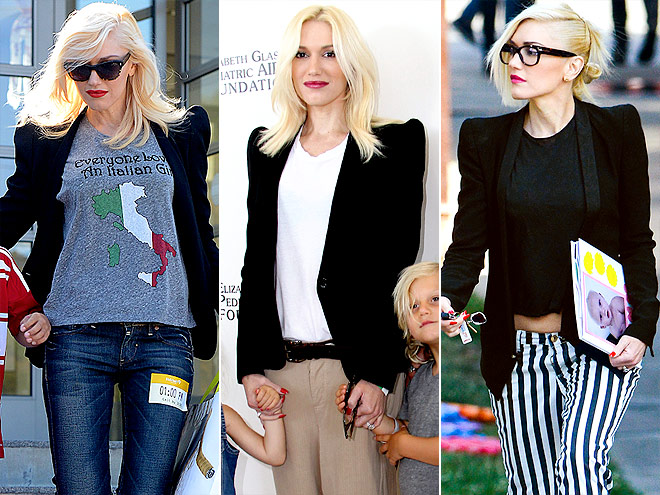 BARBARA BUI BLAZER  photo | Gwen Stefani