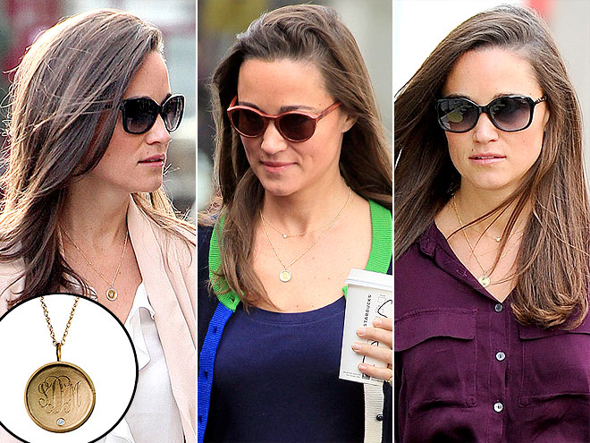 GOLDEN THREAD NECKLACE  photo | Pippa Middleton