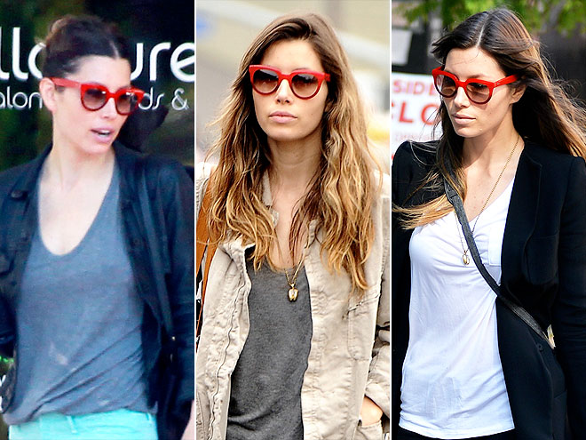 TOD'S SUNGLASSES photo | Jessica Biel