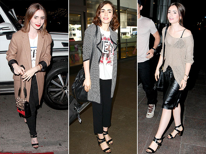 ALDO SHOES  photo | Lily Collins